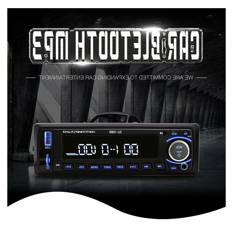 Автомобиль, Радио стерео плеер Bluetooth телефон AUX-IN MP3 FM/USB/1 Din/пульт дистанционного управления для Iphone 12 В Car Audio Авто 2017, распродажа Новый