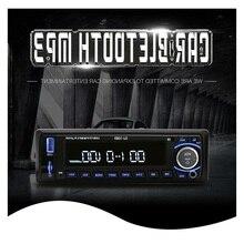 Auto Radio Stereo-Player Bluetooth Telefon AUX-IN MP3 FM/USB/1 Din/fernbedienung Für Iphone 12 V Auto Audio Auto 2017 Verkauf Neue