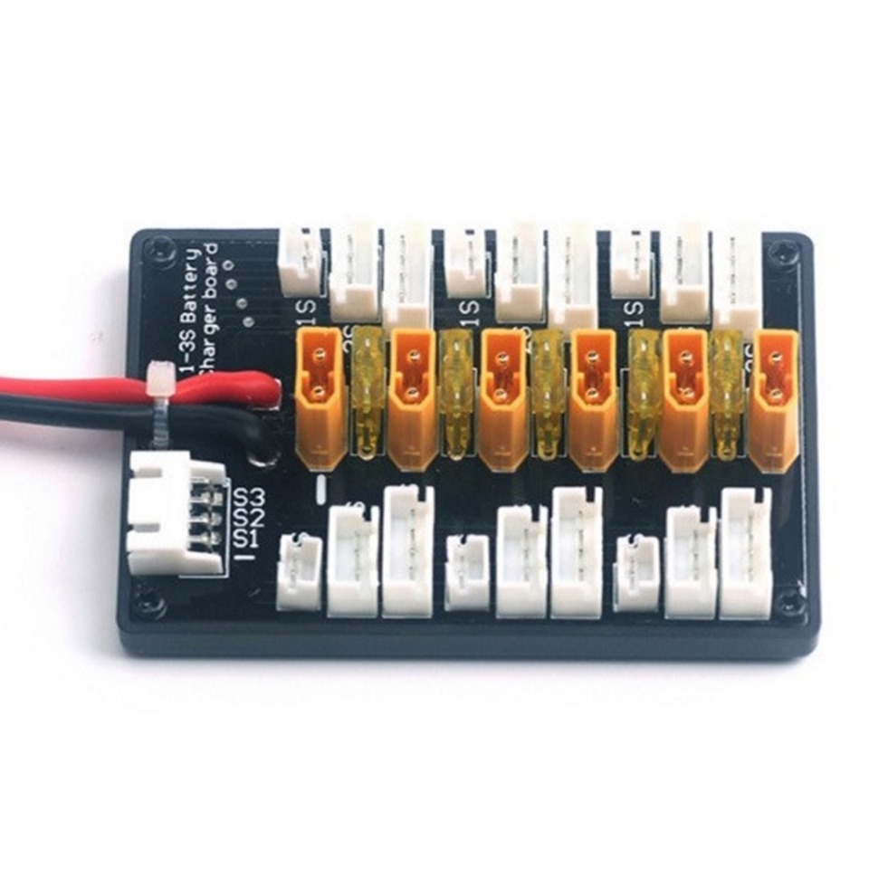 1-3S XT30 Parallel Charging Balance Board For IMAX B6 B6AC LiPo Battery Charger