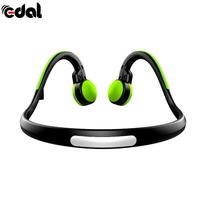 EDAL Wire Earphone Bone Conduction Headphones With Mic Noise Reduction Outdoor Sports 4 Colors Headphones