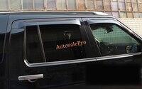 Door Window Visor Vent Shades Sun Rain Guard Deflector For Land Rover LR4 Discovery 4 2010 2011 2012 2013 2014 2015
