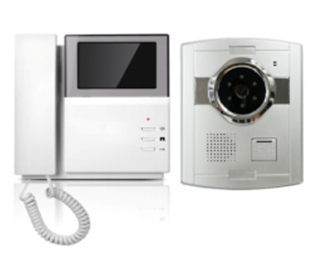 700TVL 4.3 Inch Wired Video Door Phone