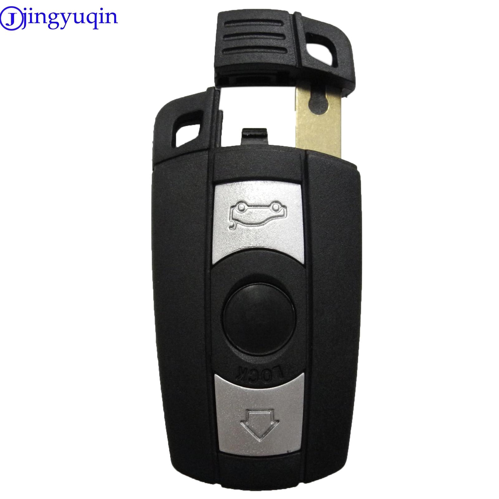 Étui à clé de voiture jingyuqin à distance pour Mercedes Benz B C E S ML SLK CLK classe 2