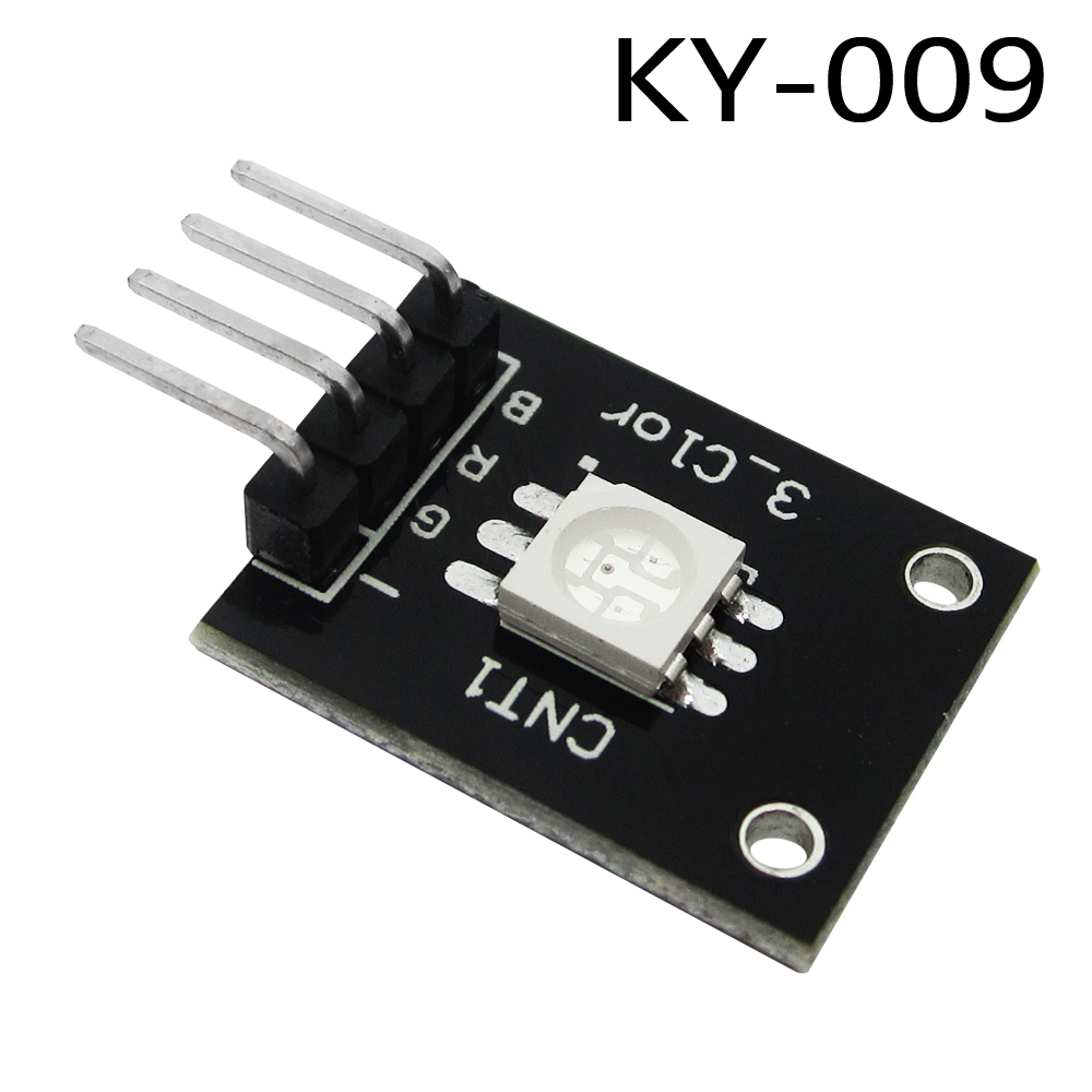 1PCS 3-color full color LED smd module controllable colorful lights KY-009 applicable