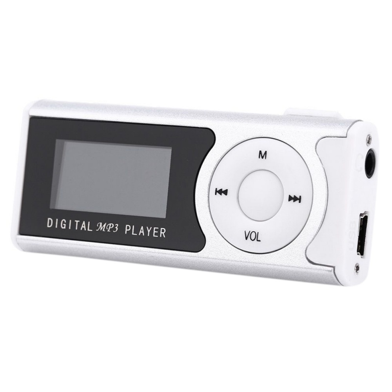 Mini Colorful MP3 Supports 8GB Micro SD Clips LCD Screen MP3