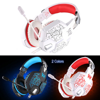 YCDC Gaming Headphone Casque Kotion EACH G1100 Best Computer Stereo Deep Bass Game Earphone Headset Microphone