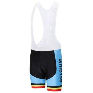 Image 5 - Crossrider 2020 בלגיה רכיבה על אופניים ג רזי סט MTB אחיד אופני בגדים לנשימה אופניים ללבוש בגדי גברים של קצר מאיו יע