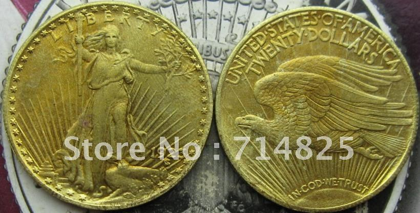 1923 Gold $20 Saint Gaudens Double Eagle