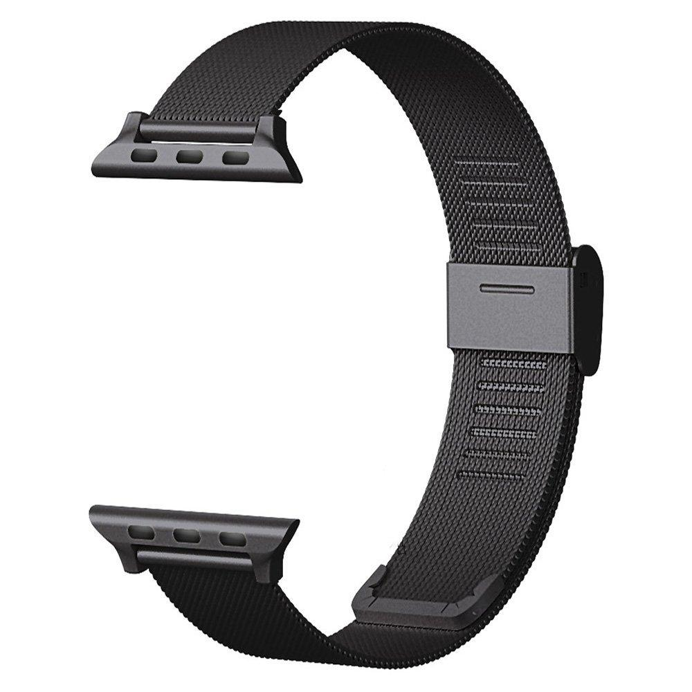 MULILAI Metal Stainless Steel Strap for Apple Watch Bands