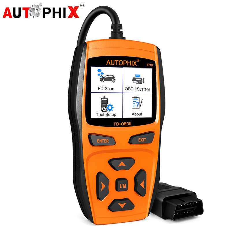 Scanner for Cars OBD2 Car Engine Fault Code Reader +ABS SRS Airbag EPB Oil  Reset OBD 2 Automotive Diagnostic Tool Autophix 7710