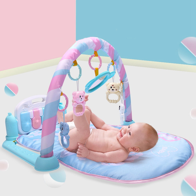 Play Gym Mat Baby Toys Gaming Carpet 0-12 Months Soft Lighting Rattles Childrens Music Mat Infant Crawling Activity Mat ToysPlay Gym Mat Baby Toys Gaming Carpet 0-12 Months Soft Lighting Rattles Childrens Music Mat Infant Crawling Activity Mat Toys
