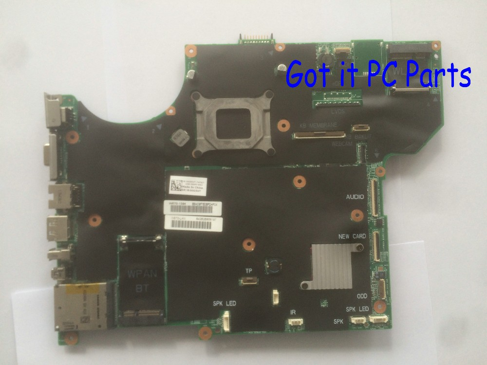 WARRANTY 90 DAYS FREE SHIPPING  motherboard for DELL ALIENWARE M15X NOTEBOOK PC  цены онлайн