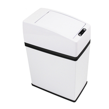 Geekinstyle 3L Mini Stainless Steel Touchless Automatic Sensor Garbage Can