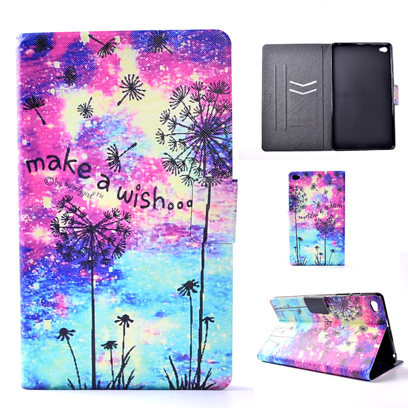 Case For Huawei M2 8.0 PU Leather Cover For Huawei Mediapad M2 8.0 M2-801W M2-802L M2-803L 801L Tablet Funda Pantied Stand Shell