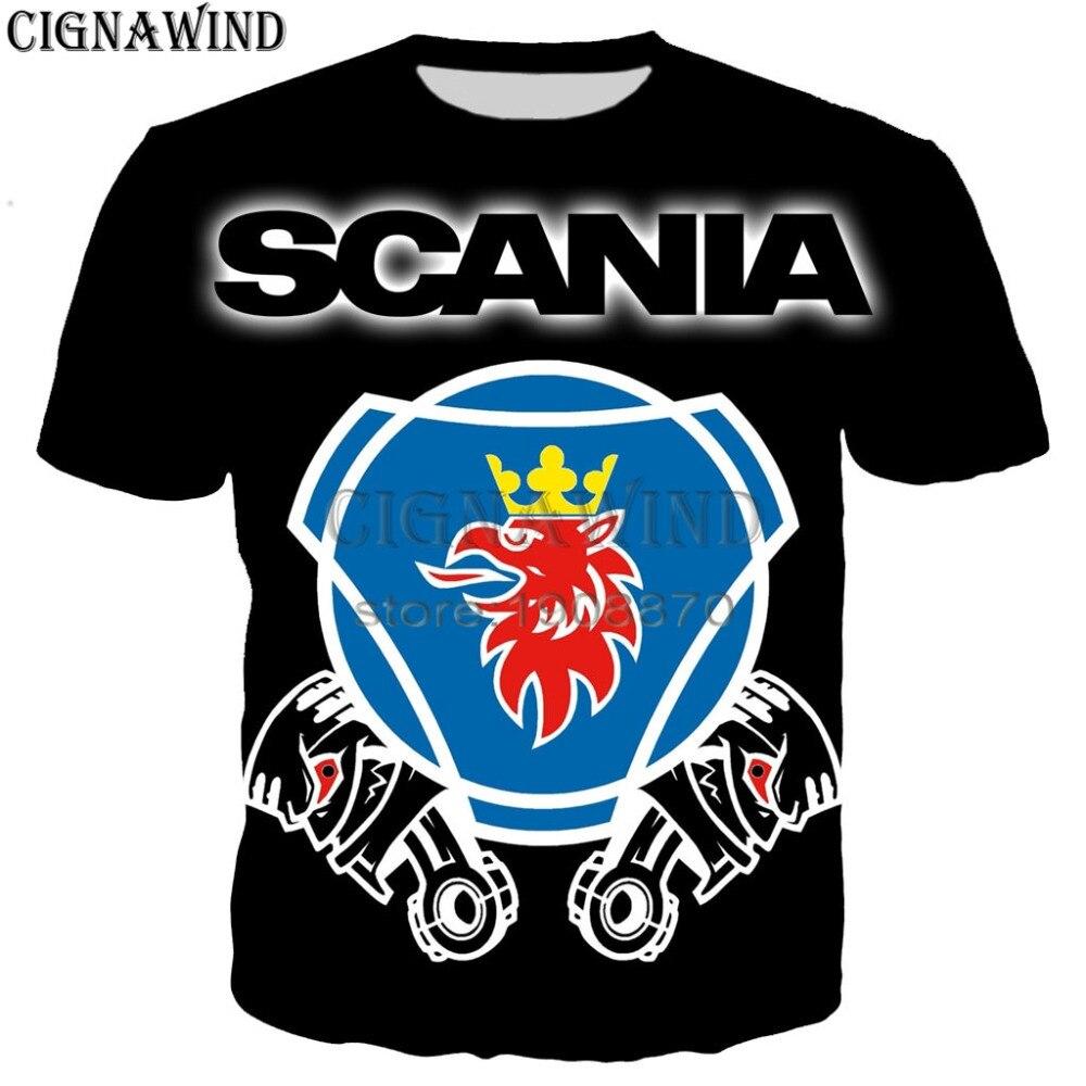 Scania T shirt up to 5XL Trucker truck emblem badge logo