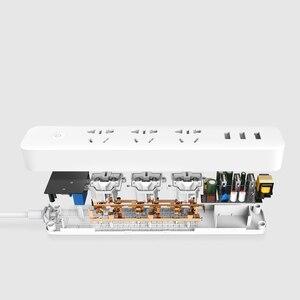 Image 4 - Xiao mi qing mi Smart Power Streifen 2 Steckdose Stecker mi Smart buchse Hause Streifen für Home Elektronik WiFi app Fernbedienung