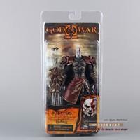 High Quality NECA God Of War 2 II Kratos In Ares Armor W Blades 7 PVC