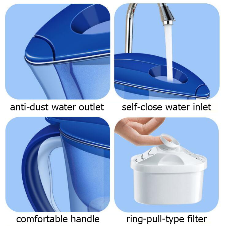 Net kettle tap water purifier