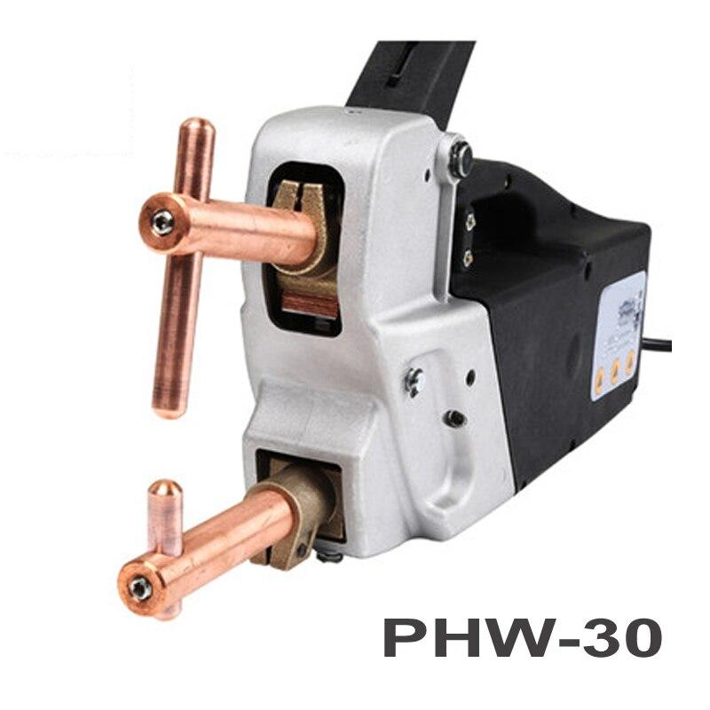 PHW-30 портативный двухсторонний точечный сварочный аппарат ручной точечный сварочный аппарат