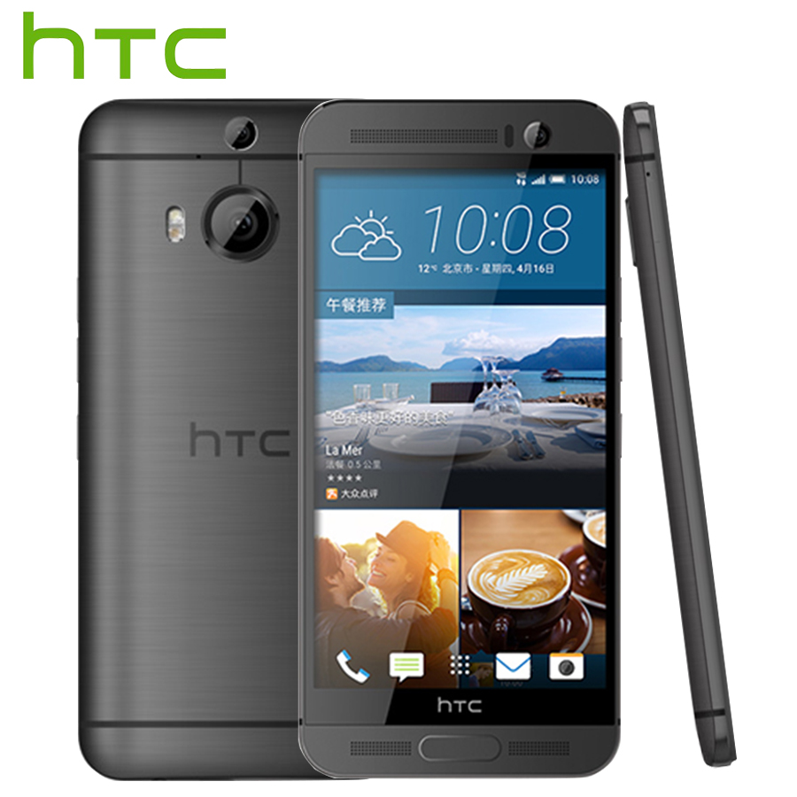 T-Mobile Version HTC One M9+ M9pw 4G LTE Mobile Phone Octa Core 2.2 GHz 3GB RAM 32GB ROM 5.2inch 2560x1440 Dual Camera CellPhone
