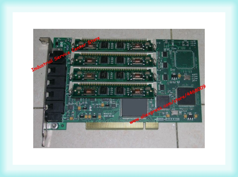 Original SHT-8B/PCI voice card with 4 recording modules 8-channel recording cardOriginal SHT-8B/PCI voice card with 4 recording modules 8-channel recording card