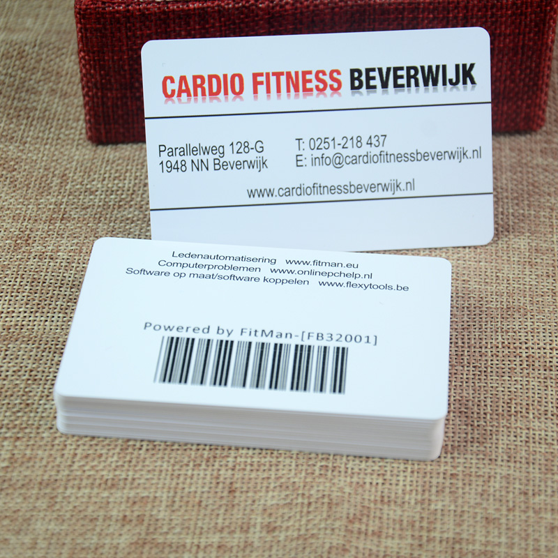 Fantastic Barcode On Business Card Images - Business Card Ideas ...