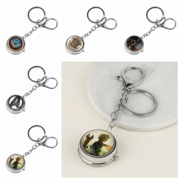Keychain Watch The Little Prince G Masonic Theme Quartz Hanging Charms Key Chain Jewelry Bag Holder Gift for Mem Women - discount item  41% OFF Pocket & Fob Watches