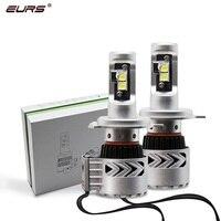 EURS 2PCS H4 LED H7 Super Bright 72W 12000LM G8 XHP50 CHIP Car Headlight Auto Lamp 24V 6000k Automobiles Fog Light H11 H7 HB4