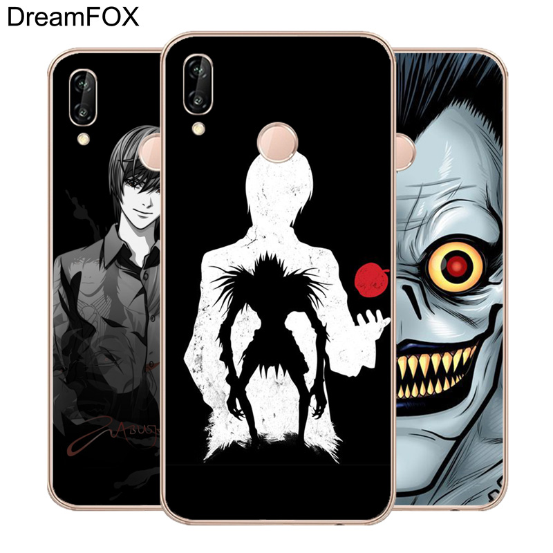 DREAMFOX M091 Death Note Anime Soft TPU Silicone Case Cover For Huawei Honor 6A 6C 6X 7A 7C 7S 7X 8 Lite Pro