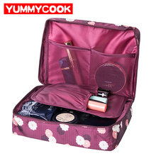 Women's Travel Organization Beauty Cosmetic Make up Storage Cute Lady Wash Bags
