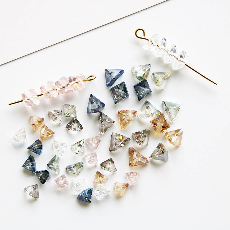 12mm 20pcs Faceted Crystal Glass Loose Spacer Beads DIY Jewelry Finding#A