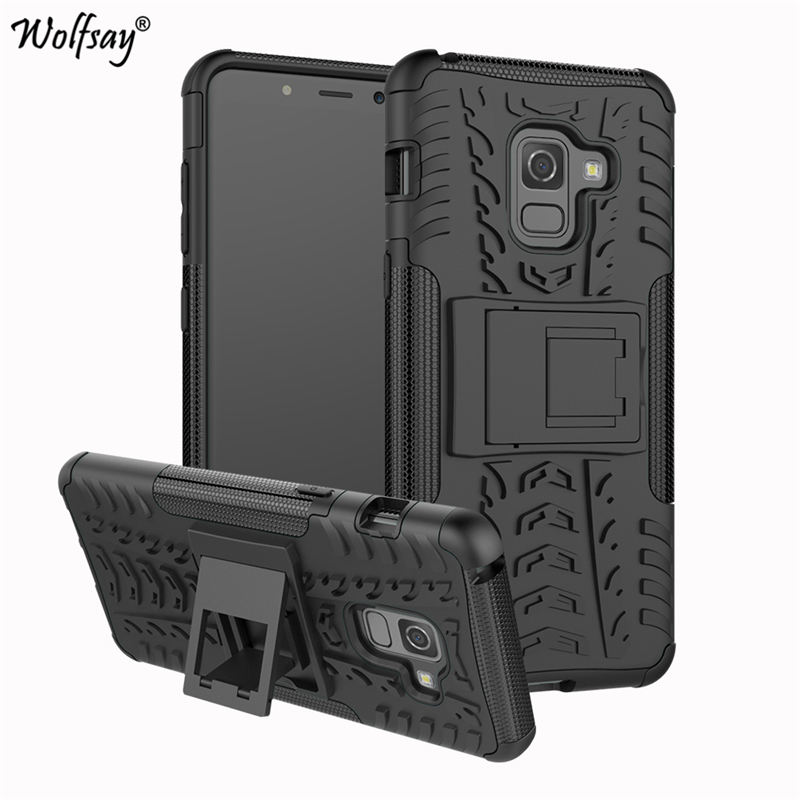 For <font><b>Samsung</b></font> Galaxy A8 2018 Case Anti-knock Silicone Armor Phone Case For <font><b>Samsung</b></font> Galaxy A8 2018 <font><b>Cover</b></font> For <font><b>Samsung</b></font> A8 2018 A530 image