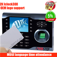High speed TCP/IP fingerprint time attendance time recorder linux system color screen ZK time attendance iclock360 with IC card