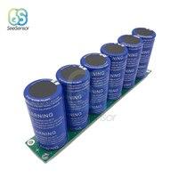 6 pçs/set 700F Capacitor Super Ultracapacitor Farad Capacitor 2.85V com Placa de Proteção Automóvel Capacitor 16V 116F|Medidores de capacitância|Ferramenta -