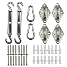 Stainless Steel Sun Shades Canopy Fixing Accessories Sailing Accessory Kit 8MM Boat Accessories Marine