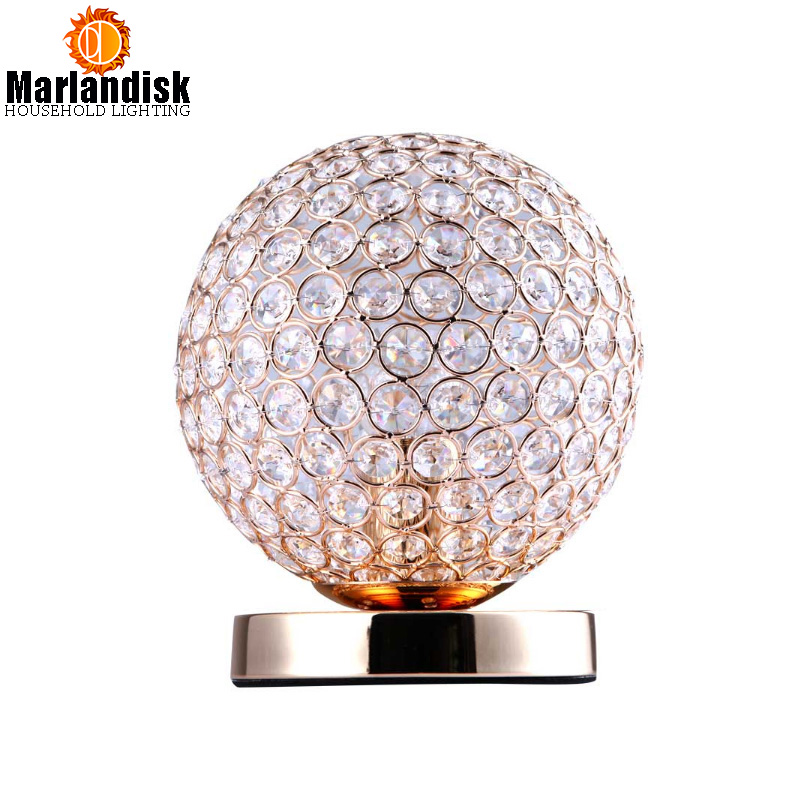 Modern Crystal Table Lamps For Bedroom,Living Room,Study,Office Modern Crystal Silver/Golden Desk Lamp Free Shipping(TL-53) minimalist warm bedroom beside k9 crystal table lamps luxury living room study desk lamps modern clear gray crystal table lamp
