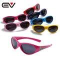 2016 de Moda de Verano Cabritos Del Deporte gafas de Sol Polarizadas Polaroid TR90 Niños Gafas de Sol UV400 Oculos De Sol Grau 2016 EV1222