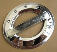 Stainless Steel Fuel Cap For JEEP CHEROKEE Car Styling Tank Cover Modification Anti Chafing Protec Decorat
