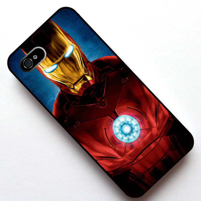 Homem de ferro Tampa Do Caso, caso para apple iphone 5 5s/4 4s/5c/6/6 plus