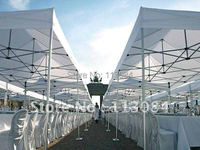 Free Shipping Discounted Quality 4m * 4m Professional Aluminum Outdoor Dinner Party Gazebo, Event Marquee Tent, Canopy, Awning