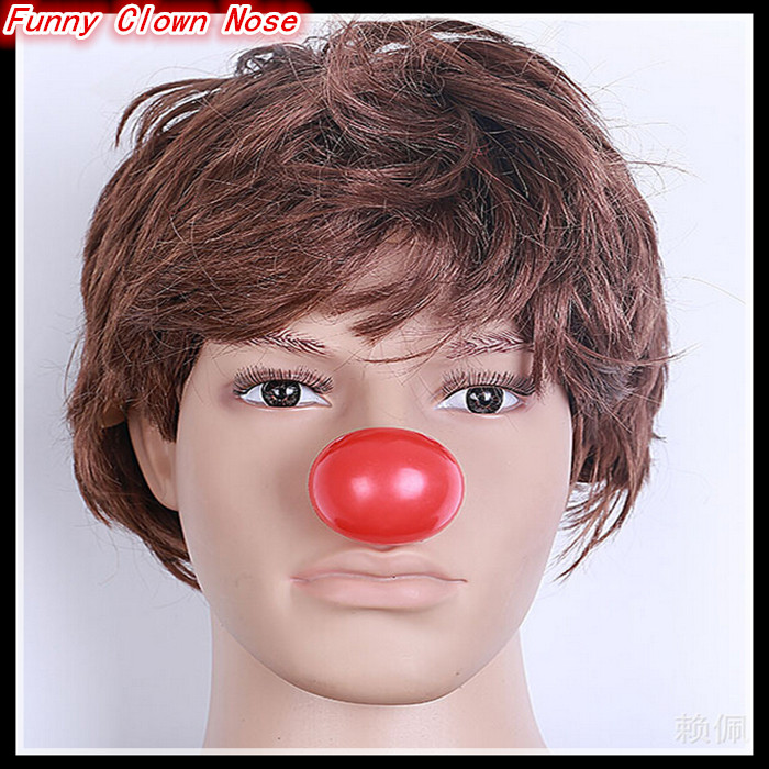 2016 Free shipping Party Cosplay Red Nose Foam Circus Clown Nose Comic Party Supplies Halloween Accessories Costume Magic Dress image