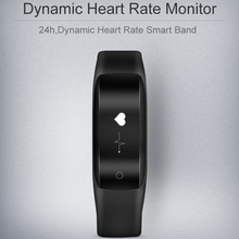 Умный Браслет Heart Rate Monitor 0.91 »OLED Дисплей Bluetooth Wirless Смарт Запястье Для Android 4.4 + iOS 8 + фитнес-Трекер