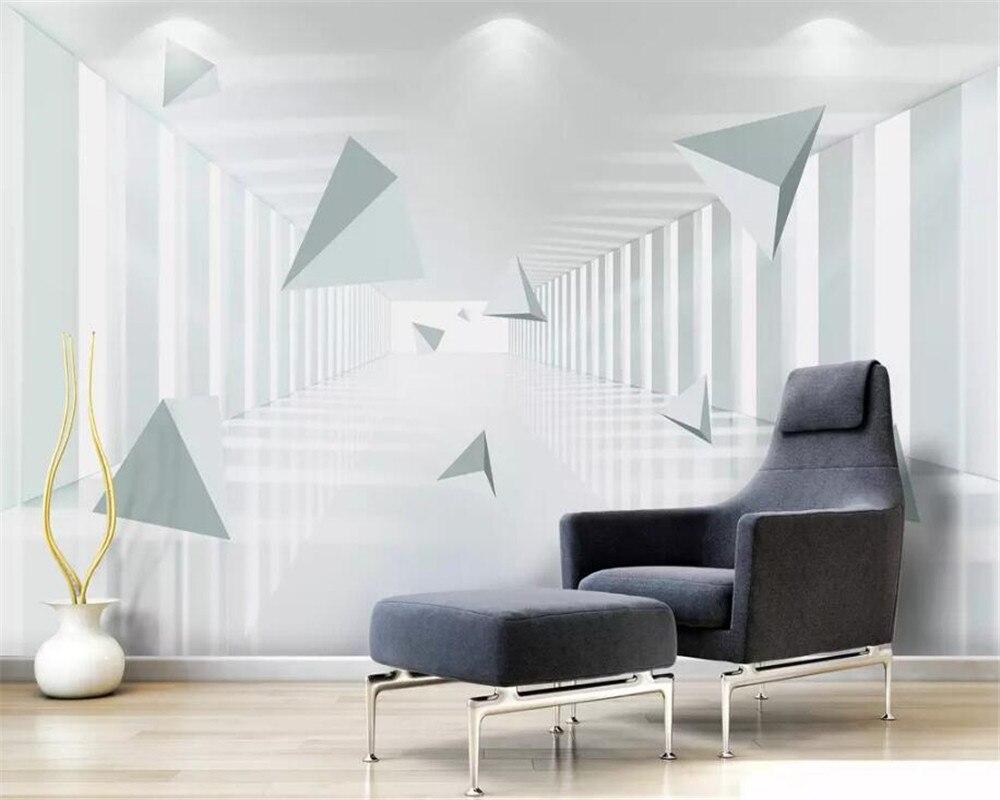 Online shop beibehang palace corridor custom wall wallpaper wall 3 d