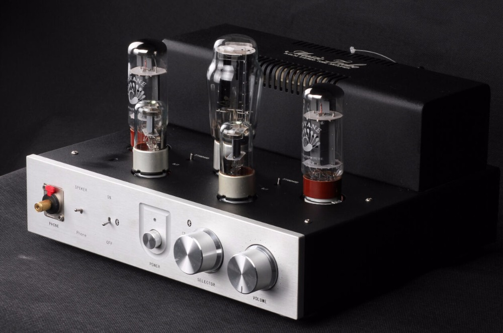 2017 New Douk Audio Integrated Bluetooth 4.0 PASVANE EL34 Vacuum Tube Audio Amplifier HiFi Stereo Headphone Amp