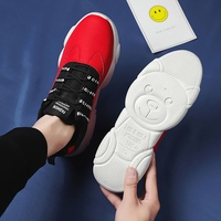 2019 Leather Spring Sneakers Men Spring Summer Bear Casual Shoes Training Jogging Boy Shoe Man Sport Breathable Flat 901