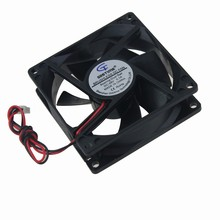 30Pcs Gdstime Double Ball 2 Wire 8025 8cm 80x80x25mm 80mm 48V DC Brushless Cooling Fan