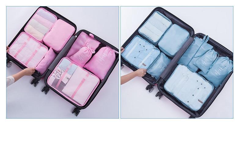 travel bag set 19