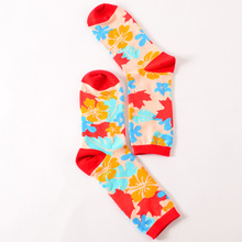 Women Happy Socks Colorful Geometric