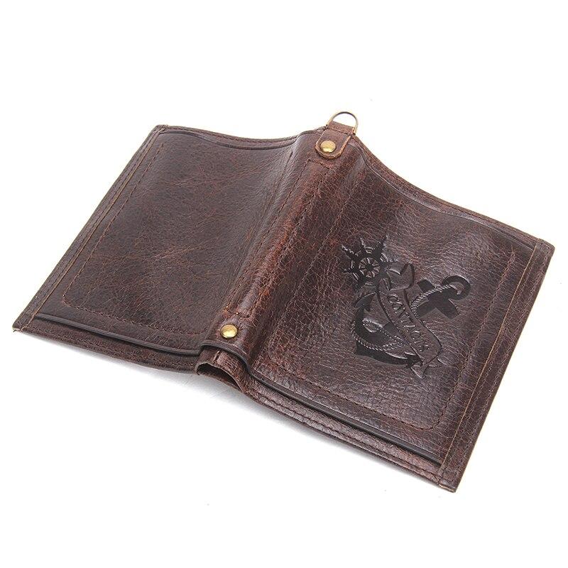 контакта кошелек бренд прошел якорь peat дизайн POS из естественной кожи для мужчин женские Cole с зубной карты и карман для monet мужской