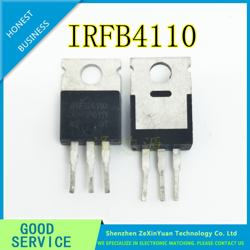20PCS IRFB4110PBF TO220 IRFB4110 B4110 TO-220 New MOS FET Transistor IRFB4110PBF